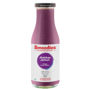 Jhakkas Jamun & Black Salt Smoothie - 500 ML