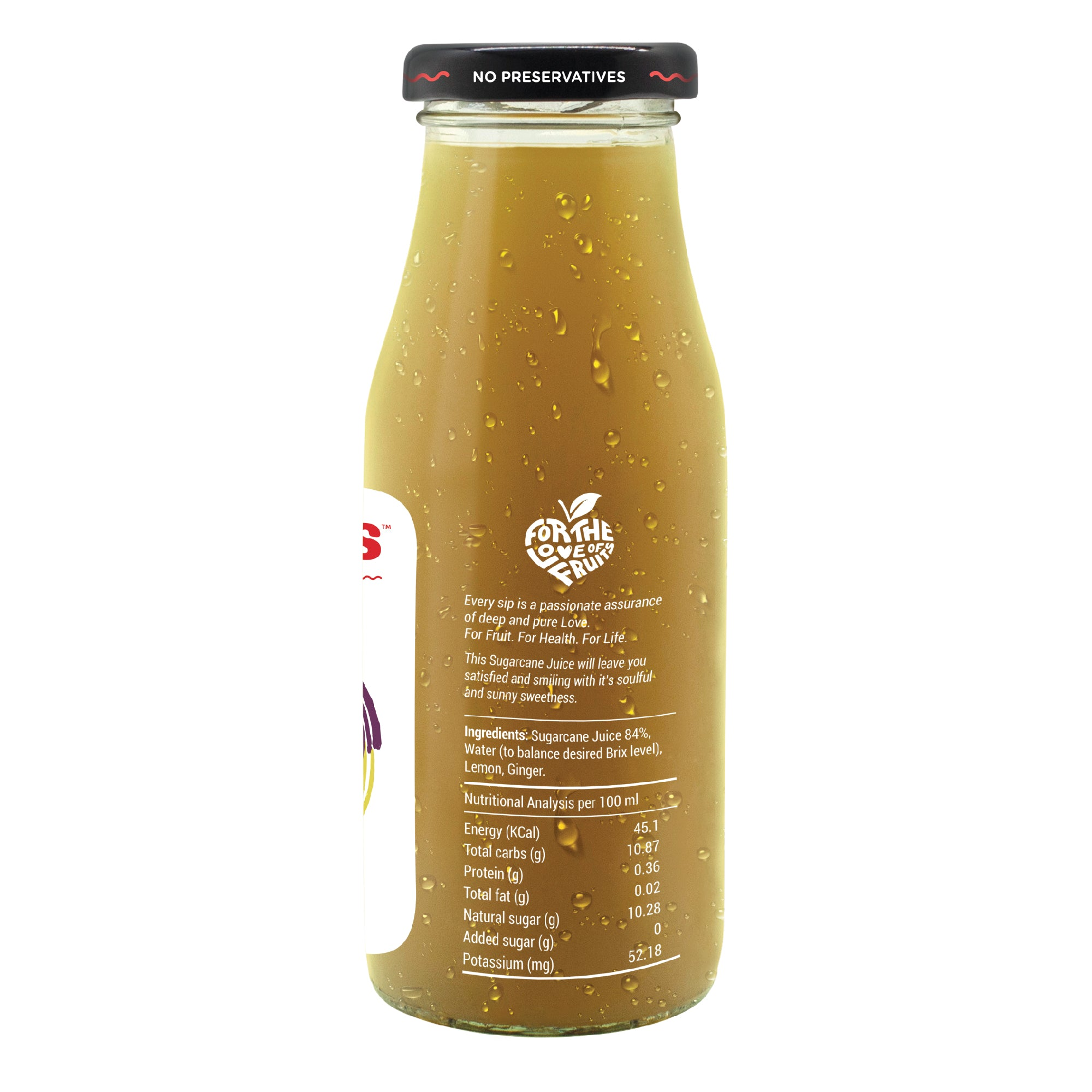 Sugarcane with Ginger - 200ML