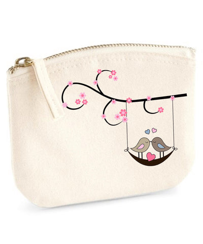 Swinging Love Birds Organic Purse