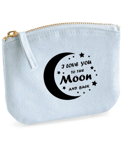 Love to the Moon Organic Purse