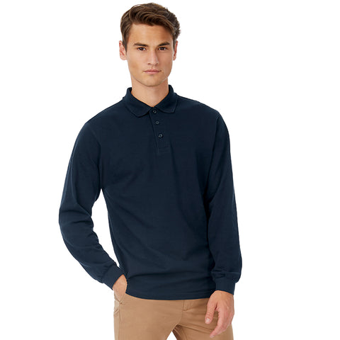 B&C Safran long sleeve Polo