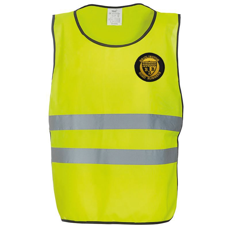 Bridlington Road Runners Hi-Viz Tabard