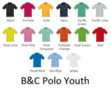 EREC Polo Shirt Youth B&C