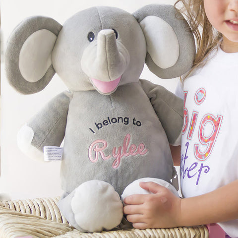 Cubbie - Elle the Grey Elephant