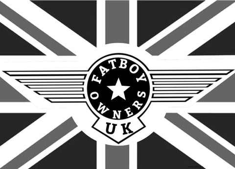 Fatboy Owners Badge 15cm INCLUDES £2 DELIVERY