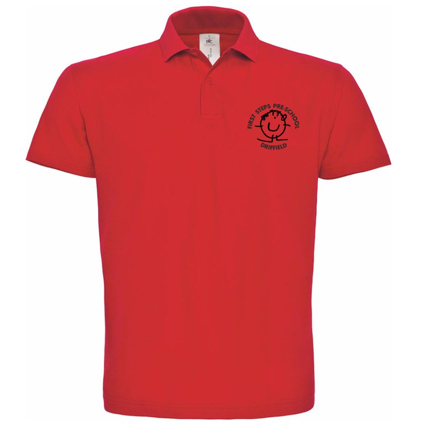 First Steps Preschool Polo Shirt