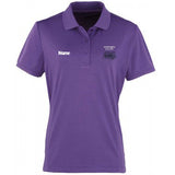 Hornsea Peloton Ladies Polo B&C - Purple