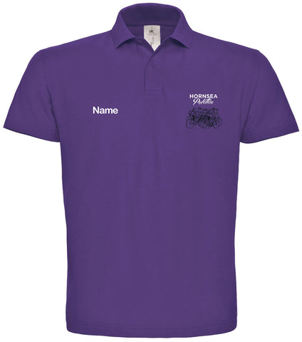 Hornsea Peloton Polo B&C - Purple
