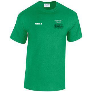 Hornsea Peloton T-shirt Gildan - Irish Green