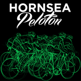 Hornsea Peloton Ladies T-shirt Gildan - Black