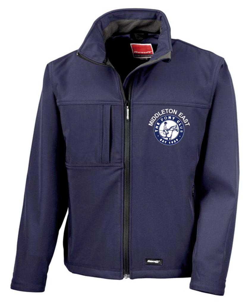 Middleton East Pony Club Classic Softshell Jacket