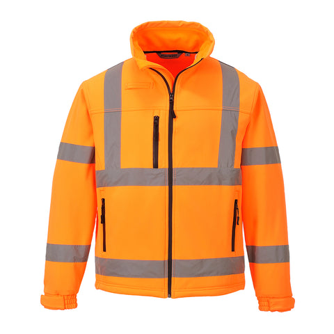 Hi-Vis Classic Softshell Jacket Portwest