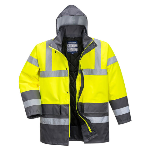 Hi-Vis Contrast Traffic Jacket