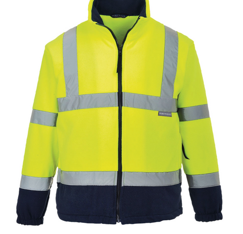 2Tone Hi-Vis Fleece
