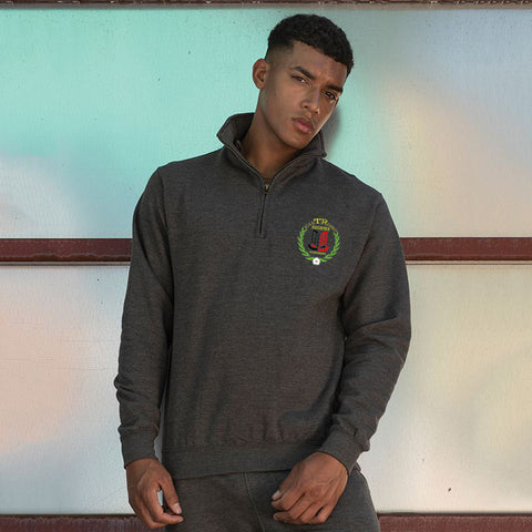 East Riding TR Register ¼ zip sweatshirt
