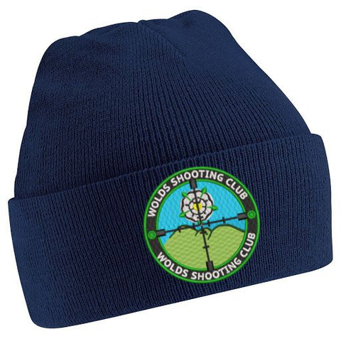 Wolds Shooting Club Cuffed Beanie