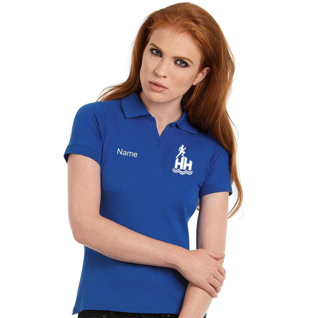 Hornsea Harriers Henbury Women's micro-fine polo