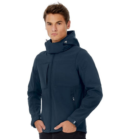Hooded B&C Softshell - Men's