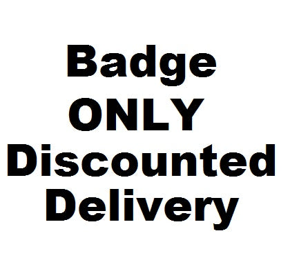 £2 Badge Delivery ONLY