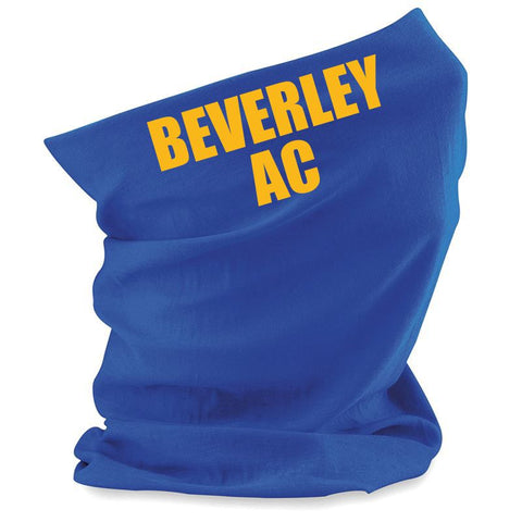 Beverley AC Morf scarf with logo