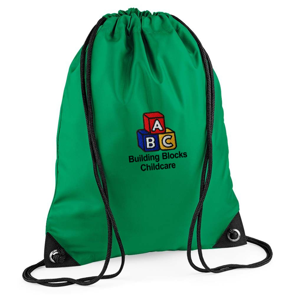 Building Blocks Childcare P.E. Bag