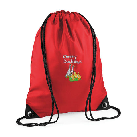 Cherry Ducklings P.E. Bag