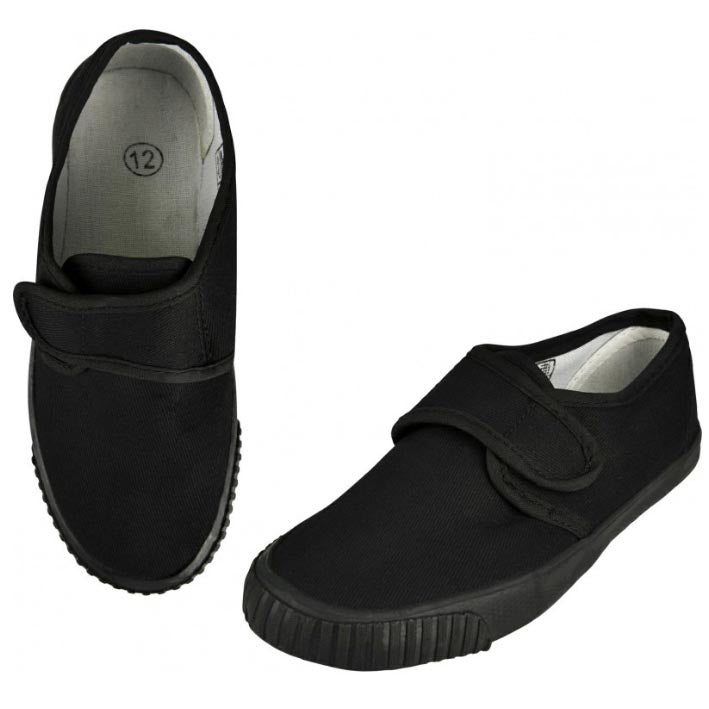 Velcro Plimsolls with Name Label
