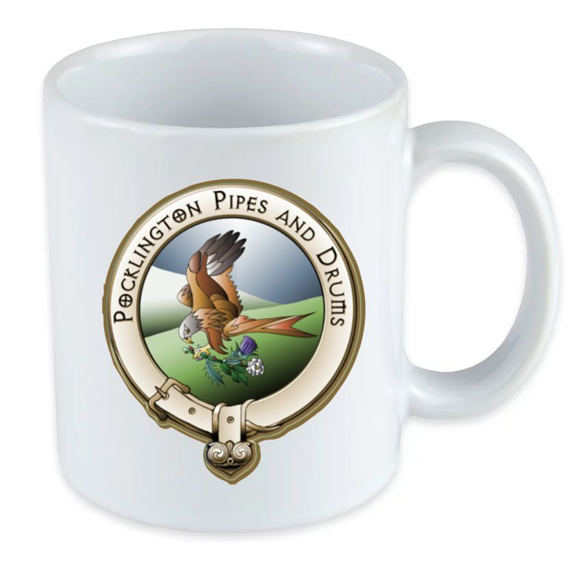 Pocklington Pipe Band double sided Mug