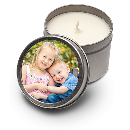 Scented Tinned Candle Personalised