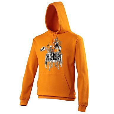 Pocklington Pipe Band skeletons Hoodie