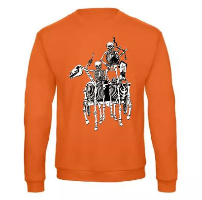 Pocklington Pipe Band skeletons B&C Sweatshirt