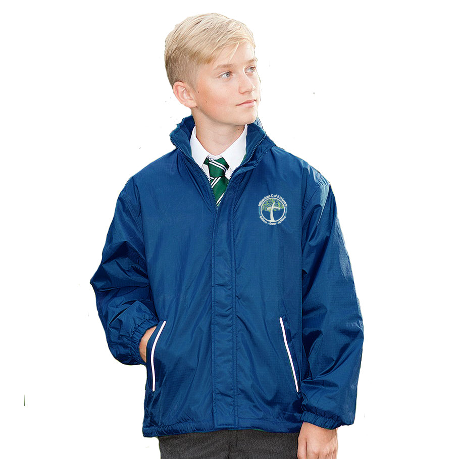 Wilberfoss School Reversible Jacket
