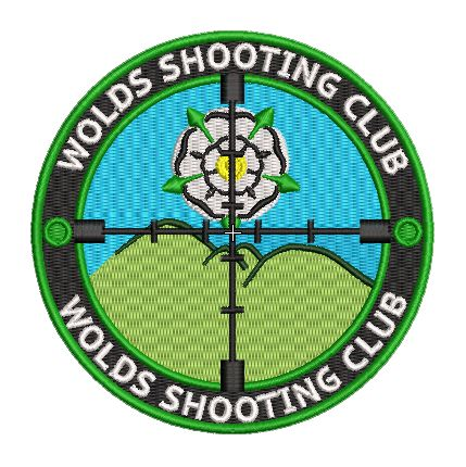 Wolds Shooting Club Embroidered Badge +£2 Postage