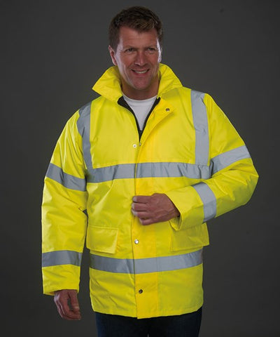 Hi-Vis Classic Motorway Safety Jacket