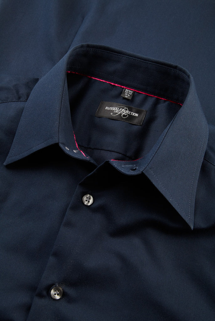 R954M - Men's Long Sleeve Tencel Fitted Shirt