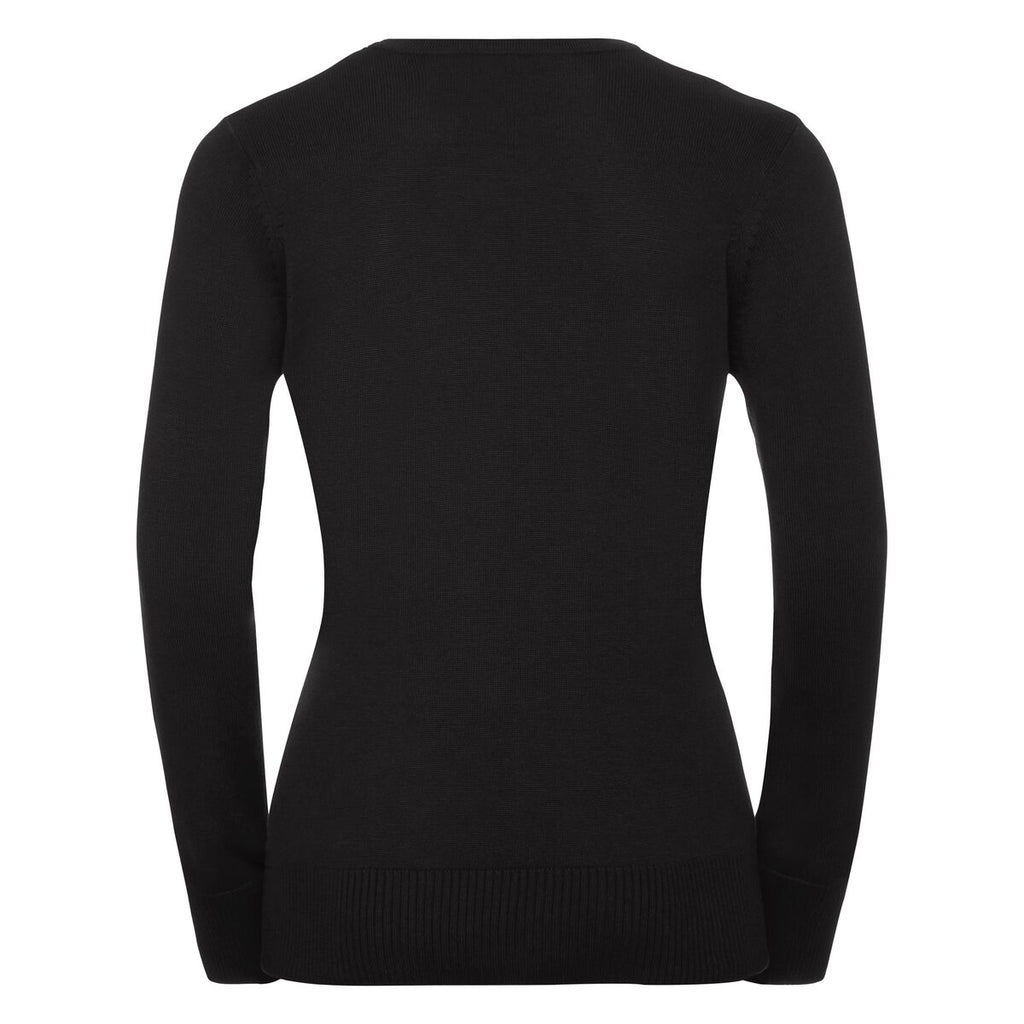 R717F - Ladies Crew Neck Knit Pullover