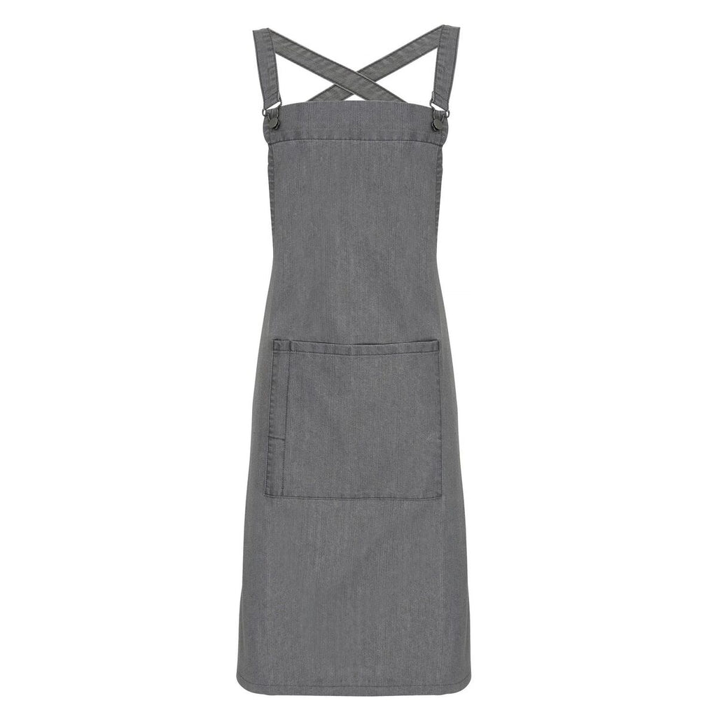 PR129 - Cross Back 'Barista' Bib Apron