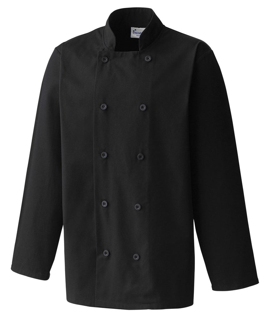 PR657 - Essential Long Sleeve Chef's Jacket