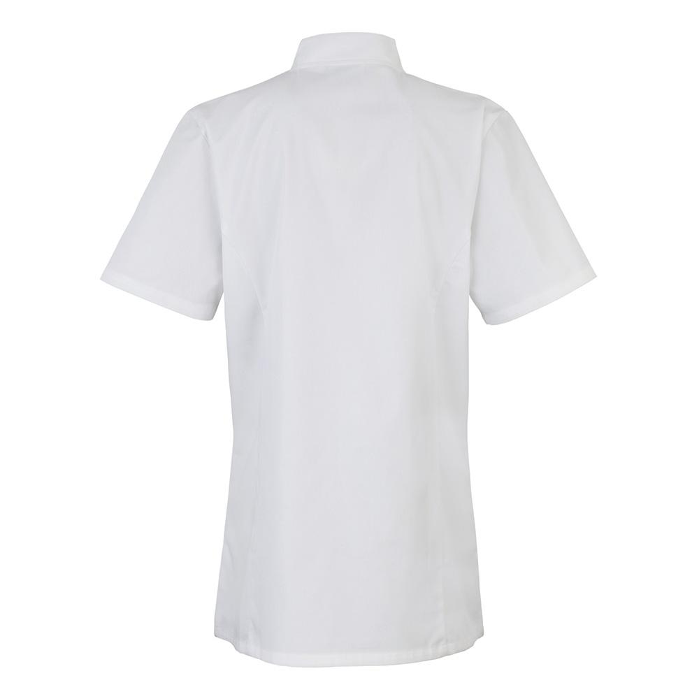 PR670 Womens Short Sleeve Chef's Jacket