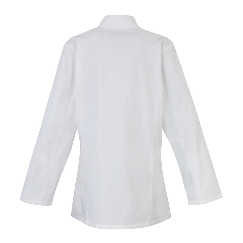 PR671 - Womens Long Sleeve Chefs Jacket