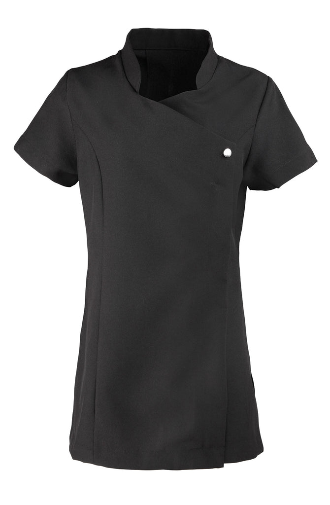PR683 - Blossom Beauty & Spa Tunic One Button Front Fastening With Concealed Front Zip Fastening