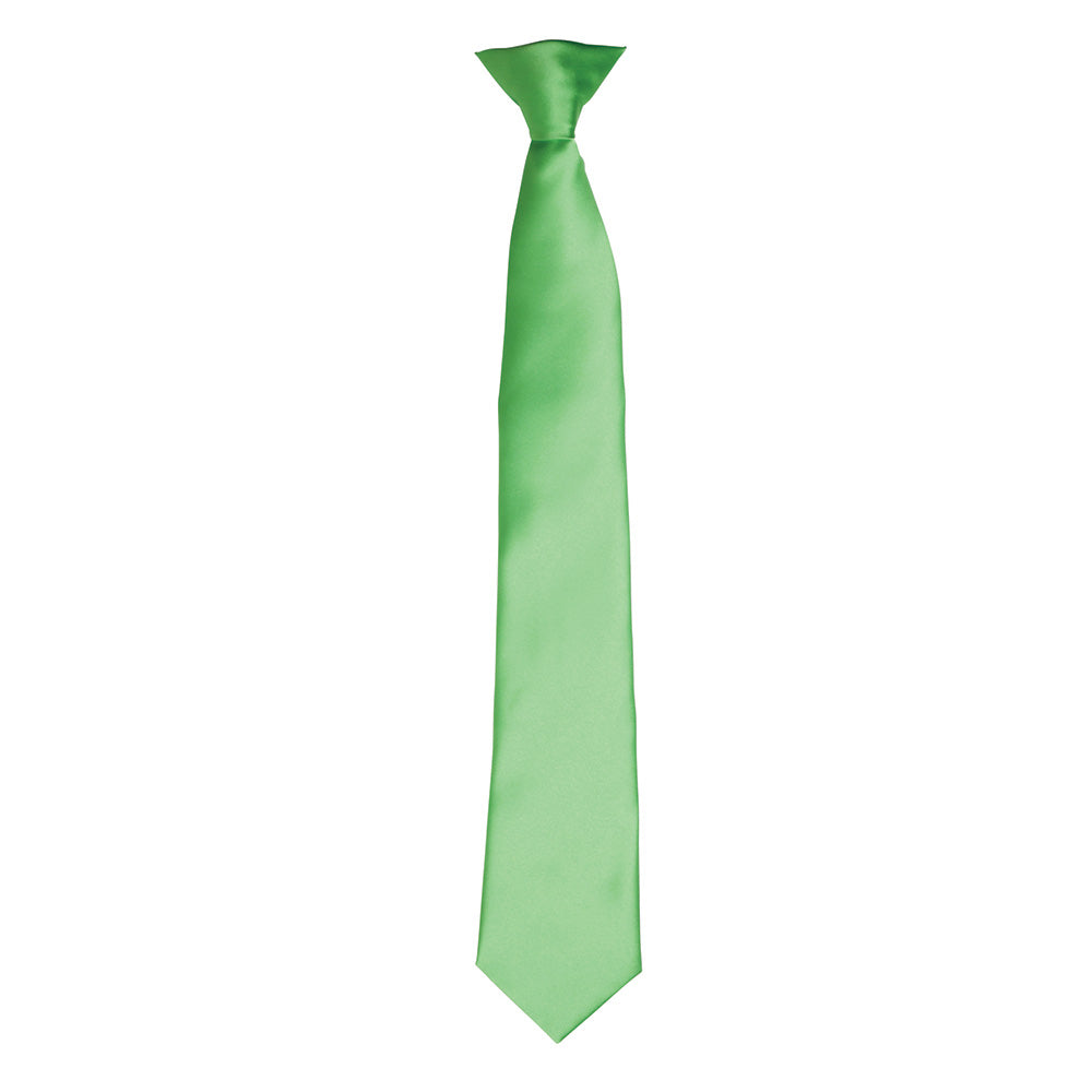 PR755 - Colours Satin Clip Tie