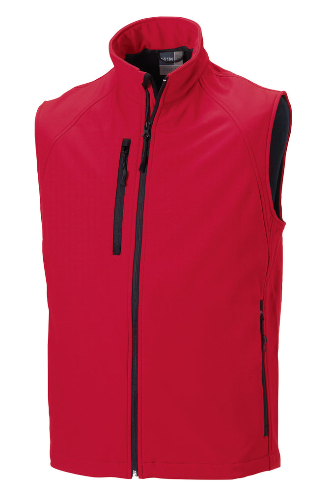 R141M - Men's Soft Shell Gilet
