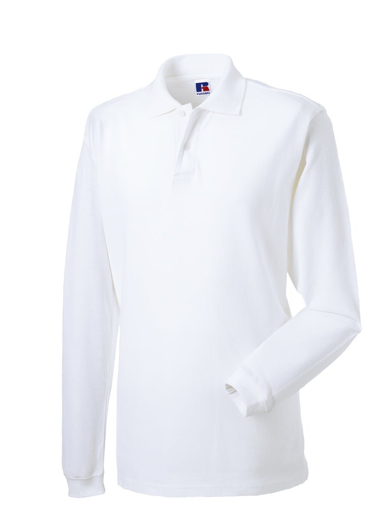 R569L - Long Sleeve Classic Cotton Polo