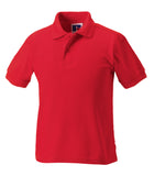 R599B - Children's Hardwearing Polycotton Polo