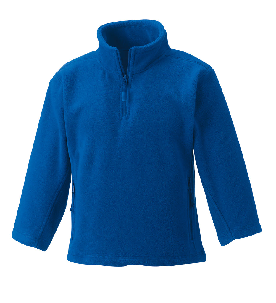 R874B - Children's 1/4 Zip Outdoor Fleece