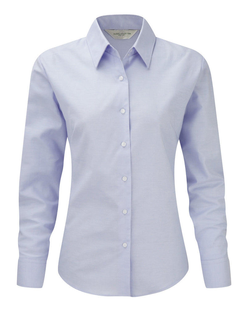 R932F - Ladies' Long Sleeve Easy Care Oxford Shirt