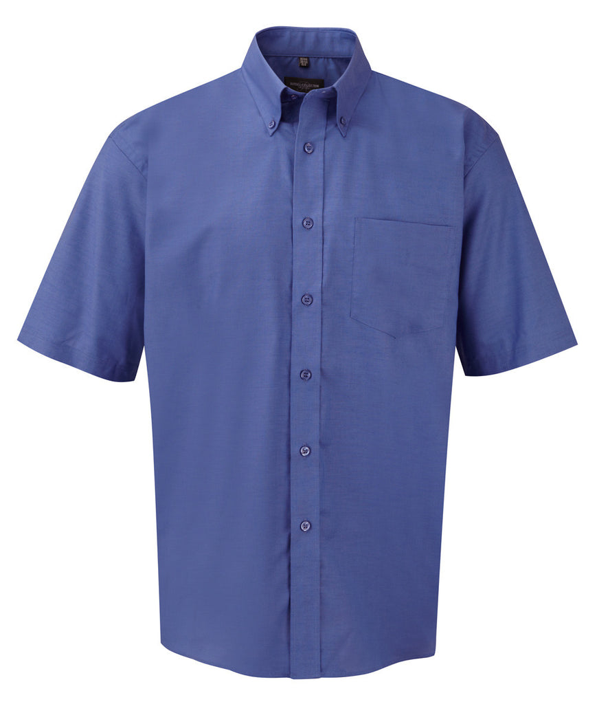 R933M - Men's Short Sleeve Easy Care Oxford Shirt