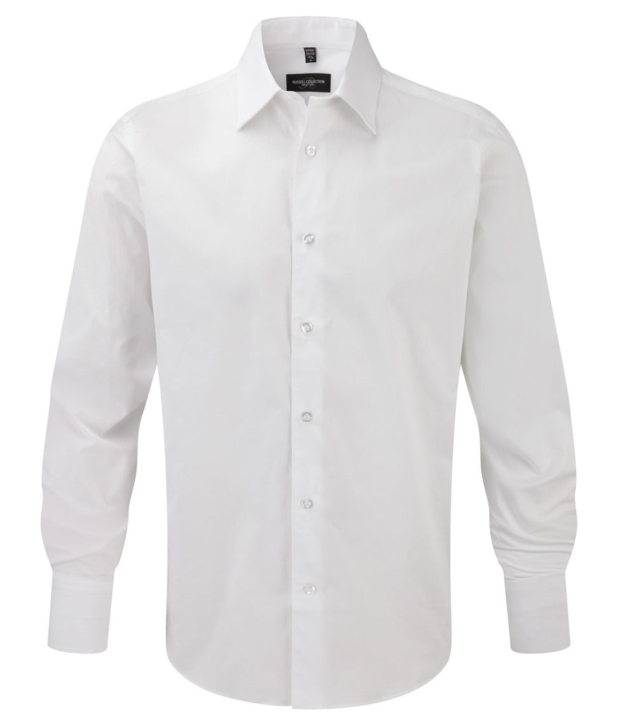 R946M - Men's Long Sleeve Easy Care Fitted Shirt