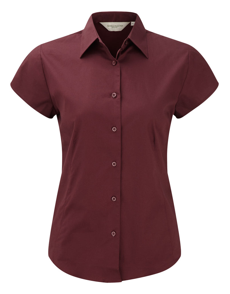 R947F - Ladies' Short Sleeve Easy Care Fitted Shirt